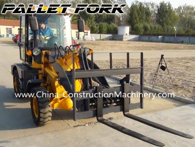 wheel loader forklift
