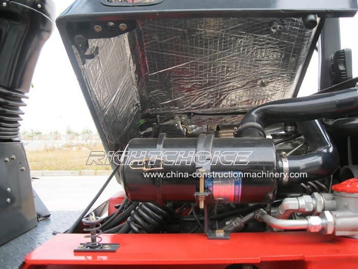 motor cargadora frontal