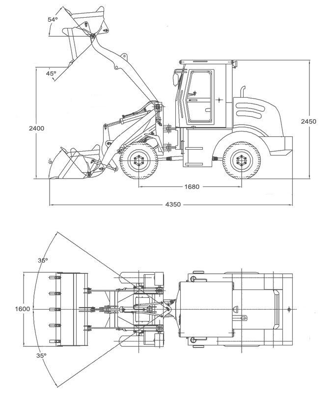 wheel loaders china