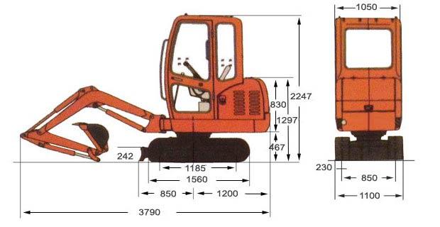 cheap mini excavator