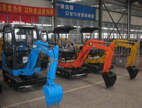 excavators manufacturers