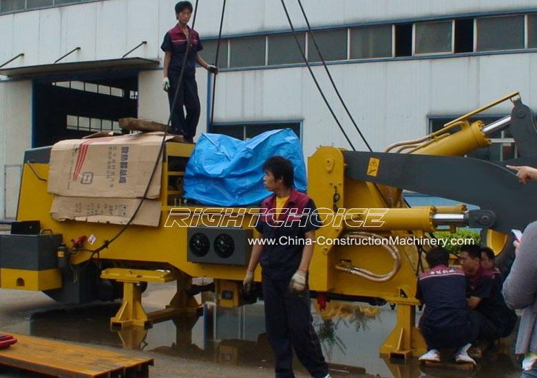 china front end loader