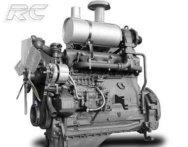 wheel loader engine