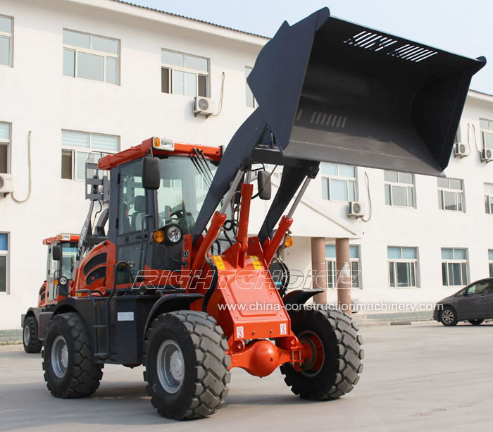 china wheel loader manufacturer